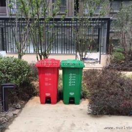 120升脚踩桶-苏州120L塑料脚踩桶-分类脚踩桶-市政环卫垃圾桶