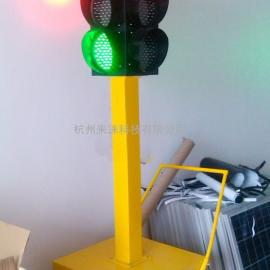 EWIG太阳能移动红绿灯<灯盘直径200mm>