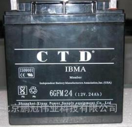 CTD蓄电池6GFM100,12V,100AH价格