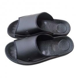 防静电拖鞋 防静电PU拖鞋 防静电鞋防尘鞋洁净鞋 防静电工鞋黑色