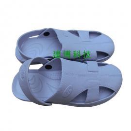 食品工厂防滑柔软防静电静电凉鞋防护鞋 洁净鞋深圳批发