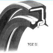 日本NOK油封 TCZ重压型骨架油封 NBR材质