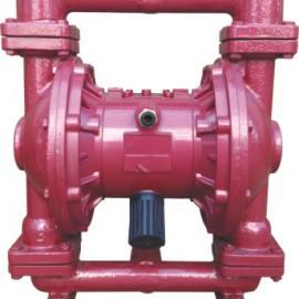 厂家供应铸铁QBY气动隔膜泵 不阻塞耐腐蚀气动隔膜泵