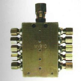 厂家优惠供应MVB递进式分配器实行三包