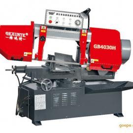 GB4030H角度金属卧式带锯床工作原理