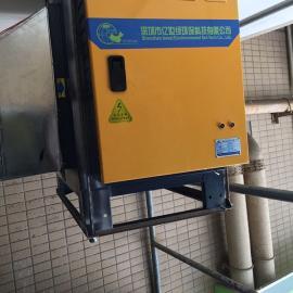 广州油烟净化器、餐饮厨房油烟净化器、厨房白铁通风工程、