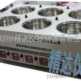 DF-4CD四孔磁力搅拌油浴锅