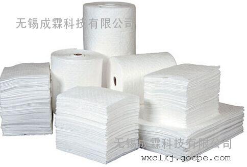 沈阳|促销吸油棉|化学品吸附棉|吸油圈条|万能吸附棉报价