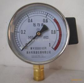 远传压力表铜材质直径100滑线电阻压力表布莱迪YTZ100