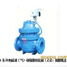 J841X系列电磁液(气)动隔膜排泥阀(又名:隔膜截止阀)
