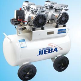 杰霸静音无油空压机JB70A无油静音空气压缩机家用木工喷漆