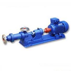 厂家质保一年优质供应I-1B不锈钢单螺杆浓浆泵
