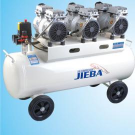 杰霸静音无油空压机JB90A 静音空气压缩机家用木工喷漆