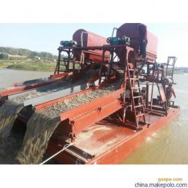 新型淘金船小型淘金船 内河淘金船