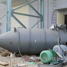 机械回转反吹风扁布袋除尘器
