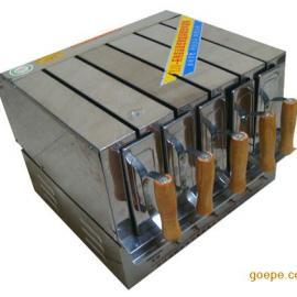 双层旋转烤羊肉串机|电烤羊肉串箱|全电烤板筋机