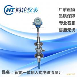 河南仪表厂家直销 大口径管道计量用 插入式电磁流量计