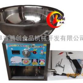小型彩色花式棉花糖机,花式果味艺术棉花糖机