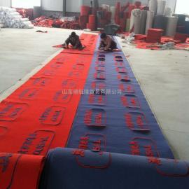PVC刻花激光地毯 广告地毯 广告地垫 拉绒压花广告地毯