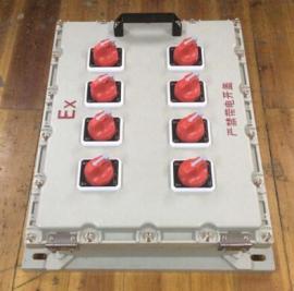 防爆开关照明配电箱,内配小型/塑壳断路器
