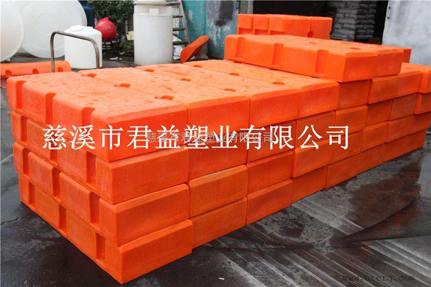 君益容器新产品1200*400*200长方形滚塑浮体
