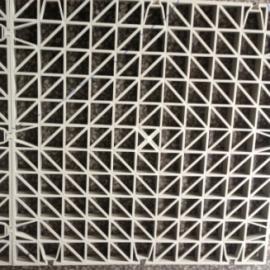 除尘塔废气塔脱硫塔格栅PP聚丙烯格栅板土木格栅