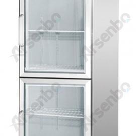 厂家直销不锈钢玻璃门展示柜/玻璃门冷藏展示柜/凉菜展示柜