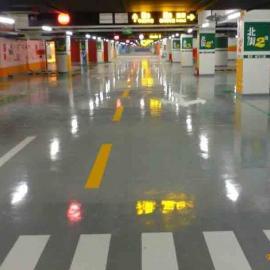 东莞停车场划线,地下车库划线