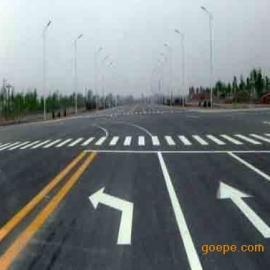 东莞沥青道路划线划热熔标线