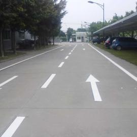 东莞马路划线、划斑马线