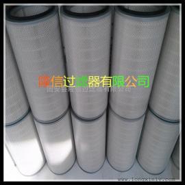 沈阳厂家批发自洁式空气过滤器配套除尘滤芯粉尘滤筒