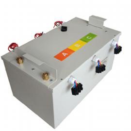 工业微波3*1000W分体式油冷变压器组水冷散热微波干燥炉