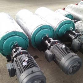 1.5kw电动滚筒厂家直销  聚氨酯包胶滚筒供应