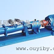 G型螺杆泵-压滤机进料泵厂家-化粪池排污泵厂家