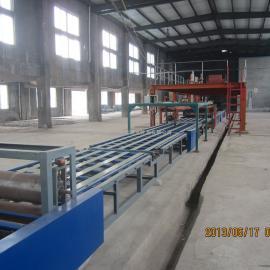 山东新型保温防火板生产线设备 质量保证 玻镁防火板设备