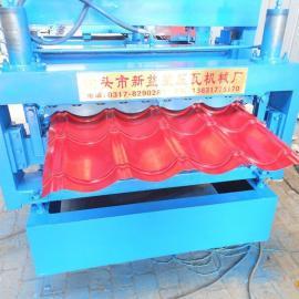 双层压瓦机 楼承板设备 全自动压瓦机 冷弯成型设备厂家