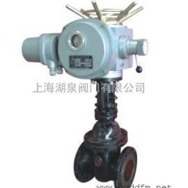 国标暗杆闸阀Z945H-16C-DN65电动锲式暗杆闸阀