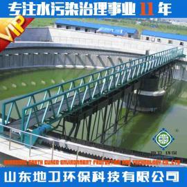 全桥式周边传动刮吸泥机的用途