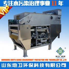 带式压滤机|PLC控制框架结构紧凑|污泥浓缩压滤机生产厂家