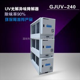 高效UV光解油烟净化器设备厂家直销 净化效率90%以上