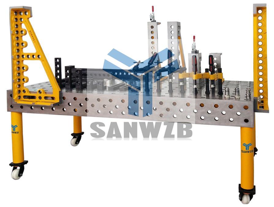 东莞三威,三维柔性组合焊接工装夹具,中国首选品牌