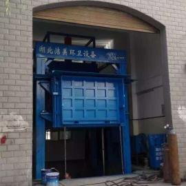 厂家供应 可升降式垃圾压缩站 垂直压缩大型垃圾中转站