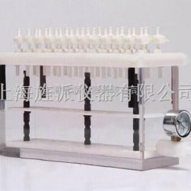 固相萃取仪配无油真空泵配缓冲瓶和进样器