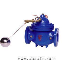厂家生产批发不锈钢100X遥控浮球阀的工作过程及工作原理