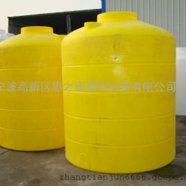 厂家供应8吨塑料水箱食品级滚塑加工塑料桶