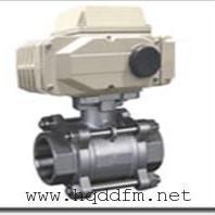 Q911F-64C-dn80电动高压内螺纹球阀