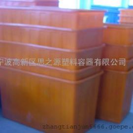 厂家供应服装印染周转箱食品级方桶1500L