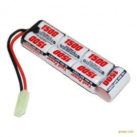 NiMH 2/3A1500mAh 8.4V玩具镍氢电池排型