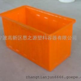 厂家供应不污染300L升养殖专用箱方箱周转箱