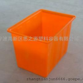 厂家供应特价加厚塑料方箱300L升便捷